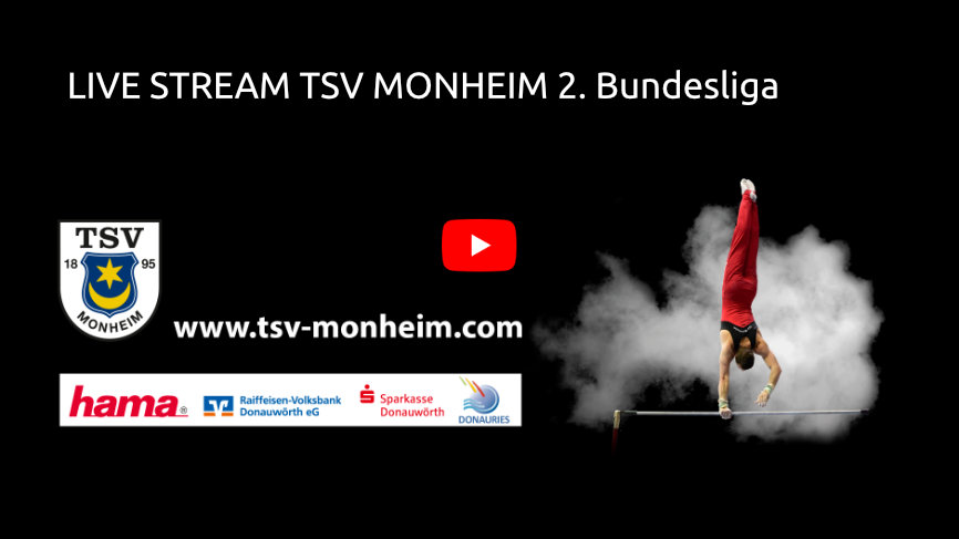 TSV Monheim YouTube Live Stream 2. Bundesliga